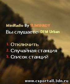 MiniRadio by SLIMSHADY v1.0