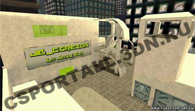 JB_CSREZON карта для мода JailBreak - Counter Strike 1.6