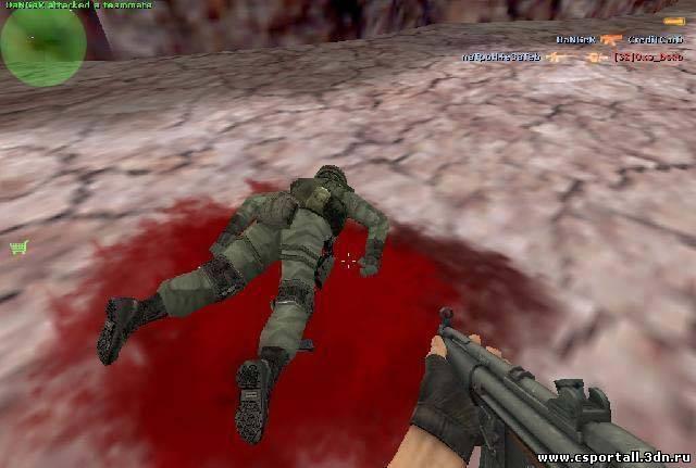 Спрайт крови из FEAR для CS 1.6