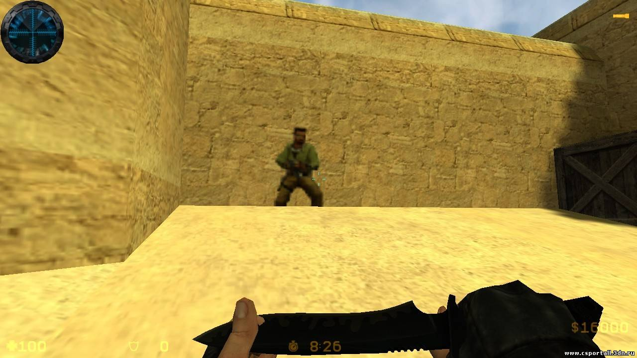 Логотип террориста для Counter Strike 1.6
