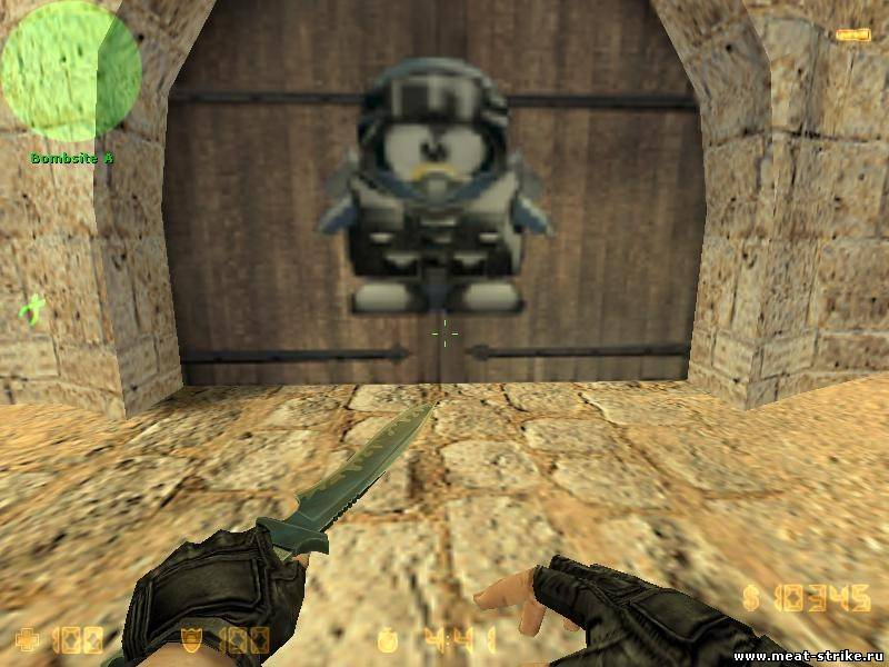 Логотип пингвин для Counter Strike 1.6